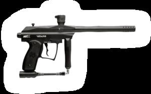 Poloautomatická military paintball zbraň
